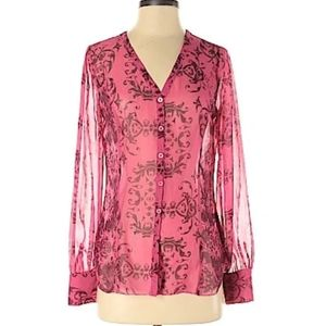 Cabi sheer blouse new with tags!!